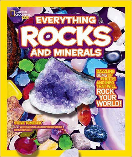 Everything Rocks and Minerals National Geographic Kids series
