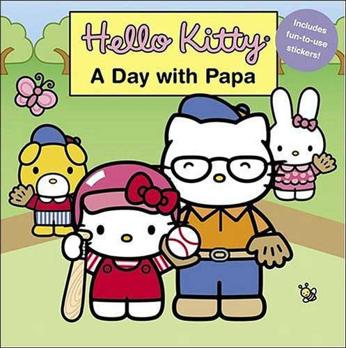 Hello Kitty, A Day with Papa by Mark McVeigh; illustrated by Jean Hirashima