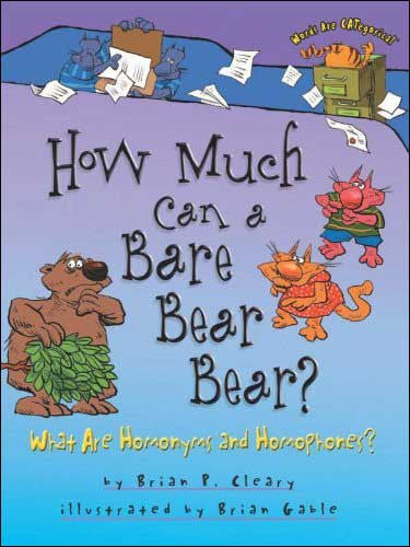 How Much Can a Bare Bear Bear? Words Are Categorical series