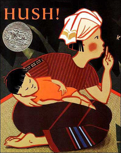 Hush!: A Thai Lullaby by Minfong Ho, illustrated by Holly Meade