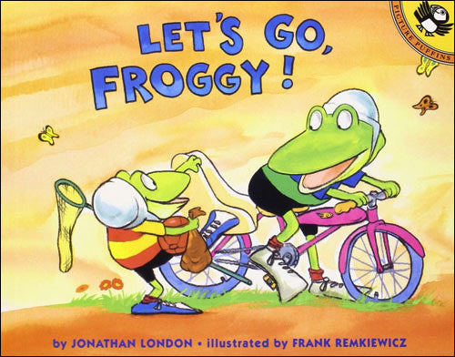 Let's Go Froggy!  by Jonathan London