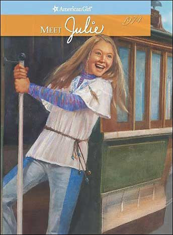American Girl: Meet Julie by Megan McDonald; illustrations by Robert Hunt