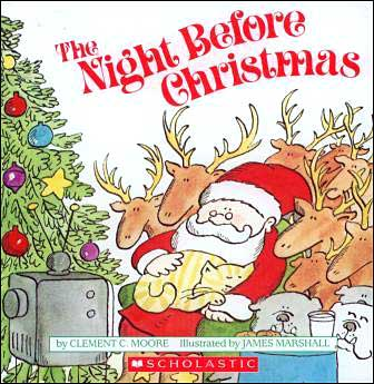 The Night Before Christmas illustrated by James Marshall