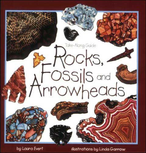 Rocks, Fossils and Arrowheads by Laura Evert;  illustrated by Linda Garrow