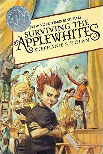 Surviving the Applewhites by Stephanie Tolan