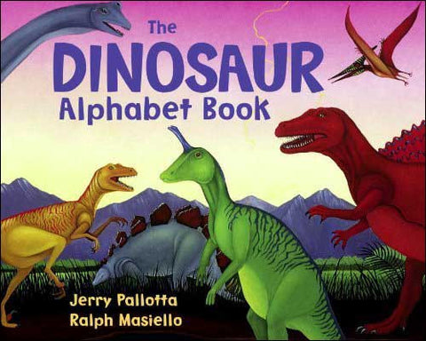 The Dinosaur Alphabet Book by Jerry Pallotta