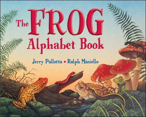 The Frog Alphabet Book by Jerry Pallotta