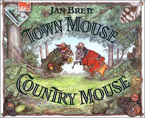 Town Mouse Country Mouse retold and illustrated by Jan Brett