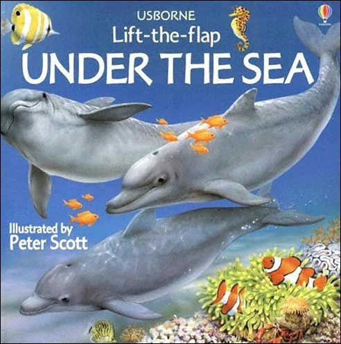 Under the Sea (Usborne Lift-the-flap) by Alastair Smith and Judy Tatchell;  illustrated by Peter Sc