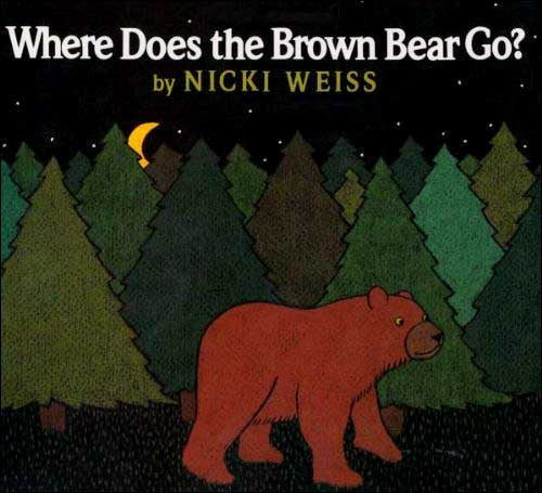 Where Does the Brown Bear Go? by Nicki Weiss