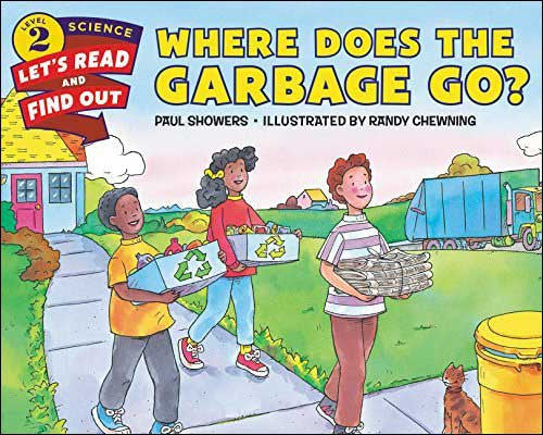 Where Does the Garbage Go?  by Paul Showers;  illustrated by Randy Chewning