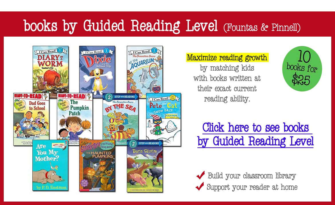 children's leveled books sets