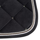 B//Vertigo Velour Lux Saddle Pad