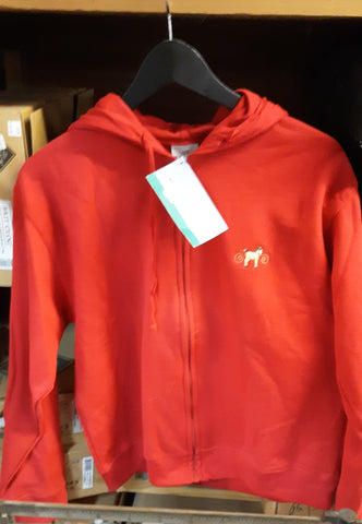 EQ Rider Kid's Long Sleeved Zip with Hood
