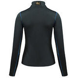 B//Vertigo Roxane Women's Long Sleeve Zip Polo Shirt