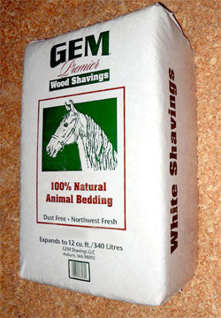 Gem White Shavings