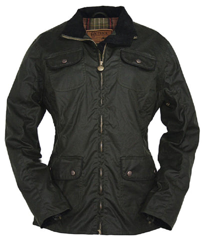 Outback Trading Company Under the Wire Jacket (Oilskin)