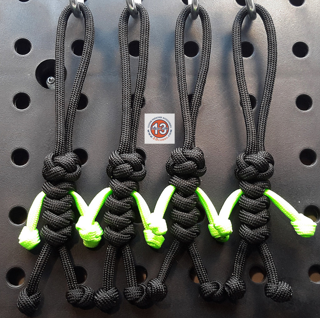 Custom Peopulls Zipper Pull Set