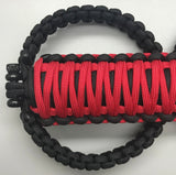 JLU Jeep Wrangler Firecracker Red Paracord