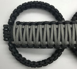 Jeep Wrangler Unlimited JL Sting Gray Grab Handles Paracord