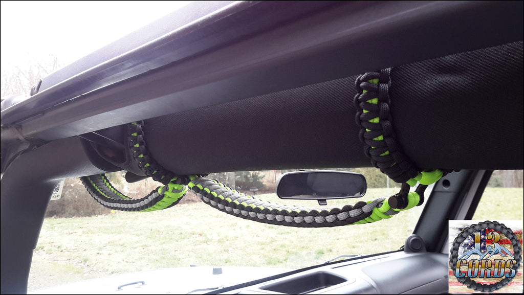 Custom Deluxe Stitched Cobra Grab Handle Set JK 2 & 4 Door