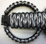 Triple Weave King Cobra Paracord Front, Rear, Headrests Grab Handle Set Jeep Wrangler JLU Urban Camo/Black