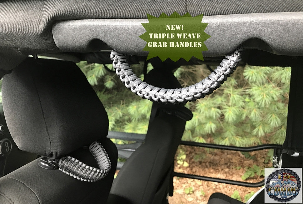 Custom Paracord Grab Handles And Jeep Accessories 13 Cords