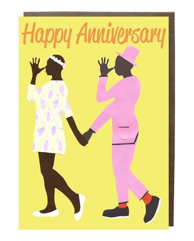 Cheeky Happy Anniversary Greeting Card