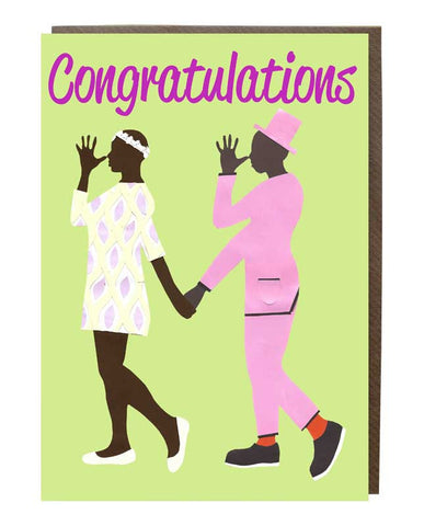 Congratulations-Anniversary Couples Greeting Card