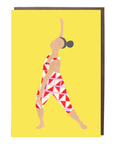 Free Dance Girl Greeting Card @janechan