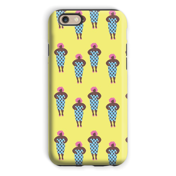 VaVa Voom Girl @mzznaki Phone Case