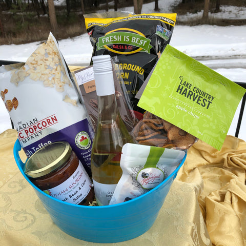 Okanagan Snack Attack Gift Basket