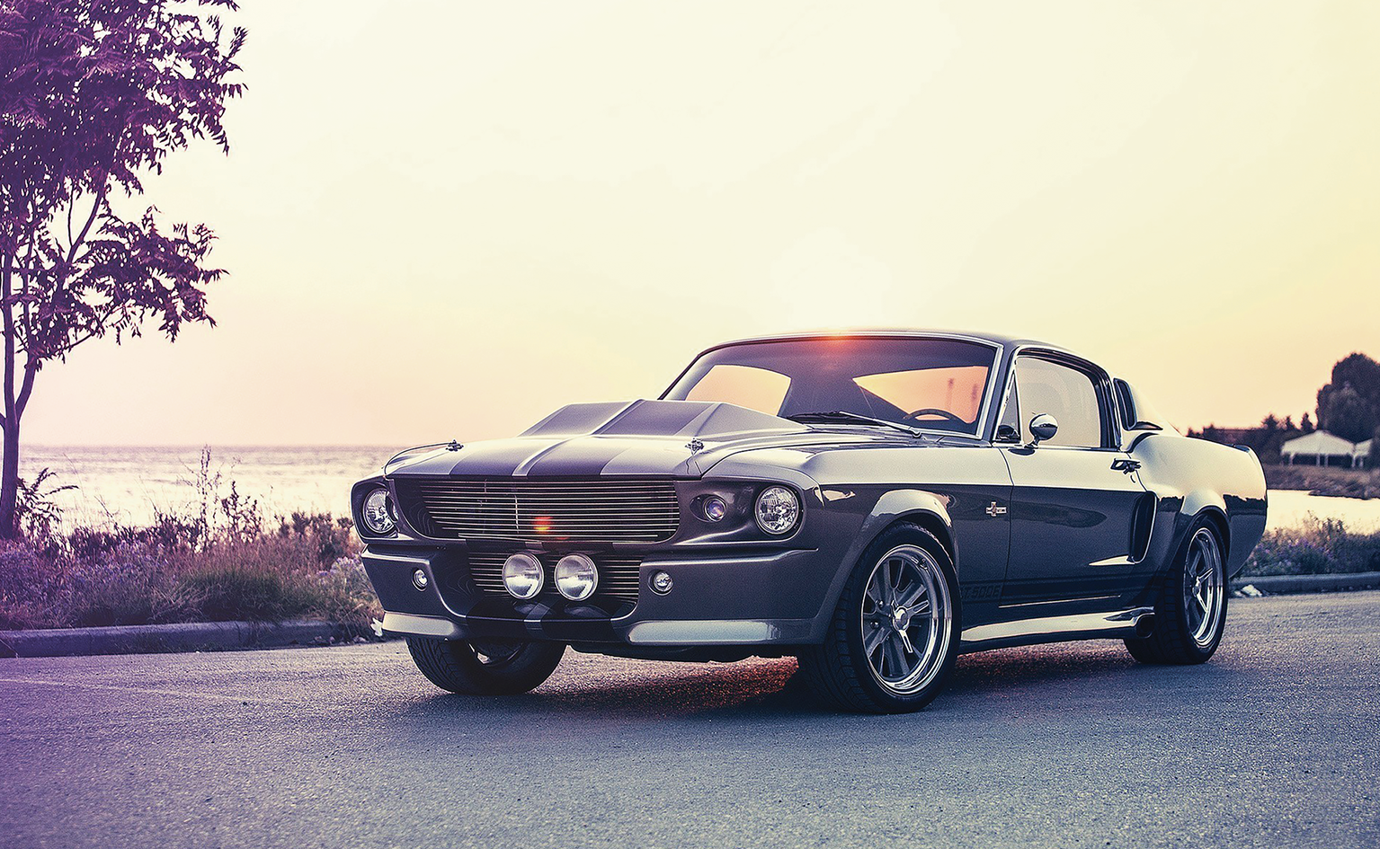 1967 ford mustang shelby cobra gt500 eleanor wall art