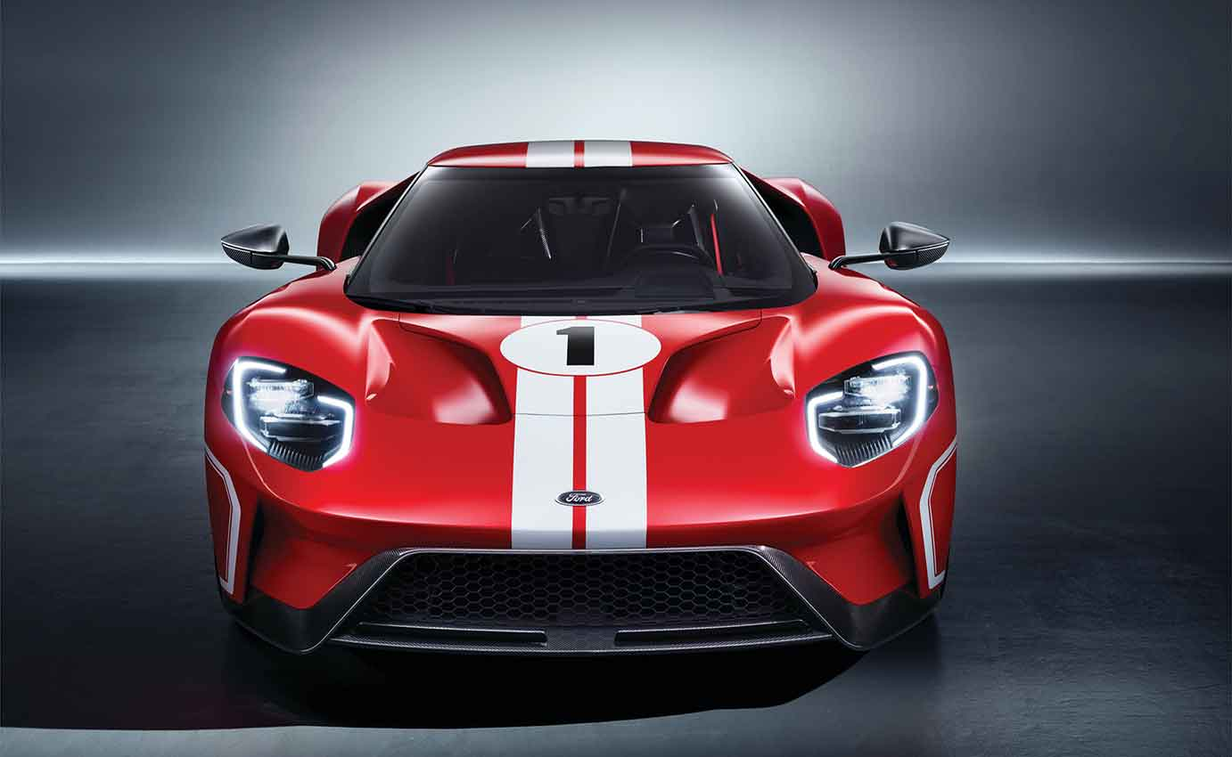 Ford Gt  Heritage Edition  Supercar Wall Art