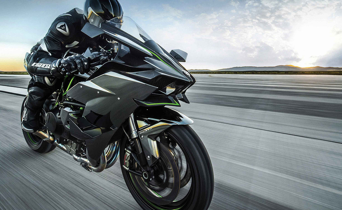 Kawasaki Ninja H2r Super Bike Wall Art Wallartlondon