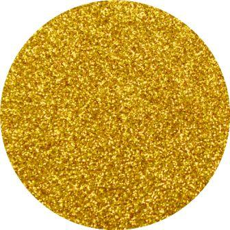 Diamond Cosmetic Glitter, 24K, Gold Glitter, 10 gram jar