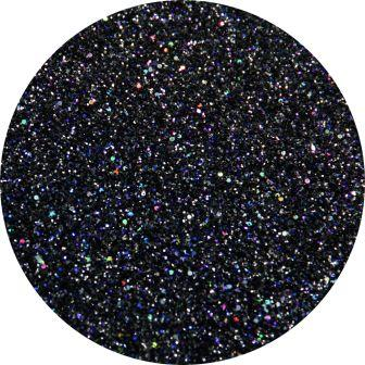 Holographic Black Glitter Makeup, Body Glitter Makeup