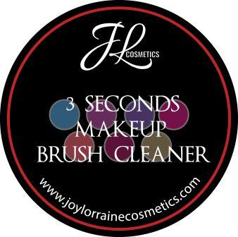 Makeup Brush Cleaner.  A few swipes on the black sponge is all that's needed to effectively remove eyeshadow color so brush can instantly be used again.
