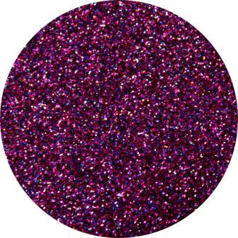 Dark Purple Glitter Makeup