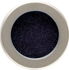 Pressed Pigment, Black Strap, An intensely pigmented black shadow with soft shimmers for all day, fade resistant wear