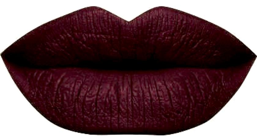 Matte Lipstick, Rated X, Maroon Lipstick, Full Coverage Lipstick