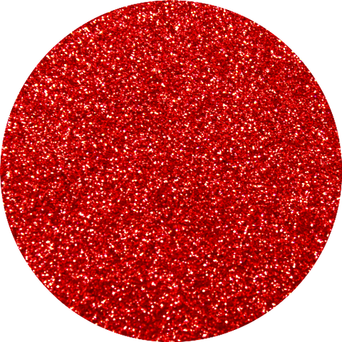 Red Slippers Glitter Swatch
