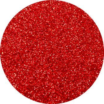 Red Slippers Glitter Makeup For Eyes