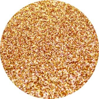 Diamond Cosmetic Glitter, Tan, Antique Gold Glitter, 10 gram jar