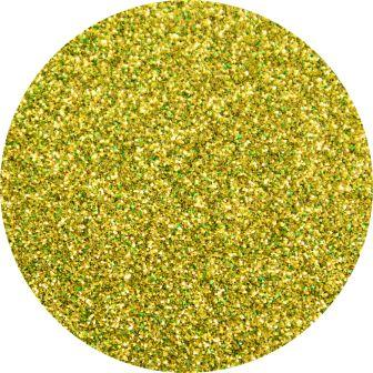 Yellow Glitter Makeup