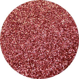 Pink Strawberry Glitter Makeup