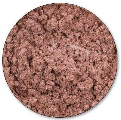 Loose Mineral Eyeshadow, Buff. A beautiful shade with a soft peachy hue