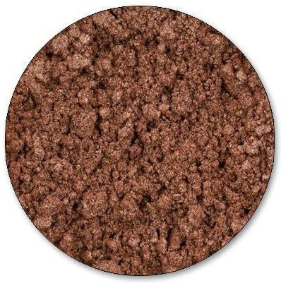 Mineral Eyeshadow, Tantalizing. A light bronze shade with a peachy hue