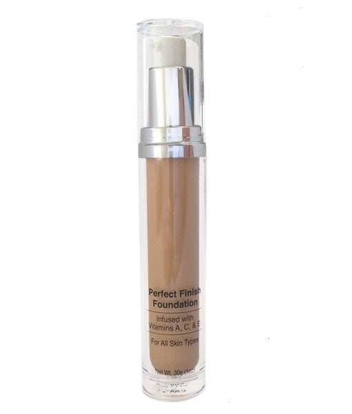 Liquid Foundation - Perfect Finish MC2. Offers light to medium coverage on all skin types.