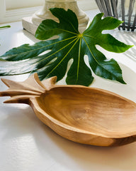 Wooden Pineapple Dish